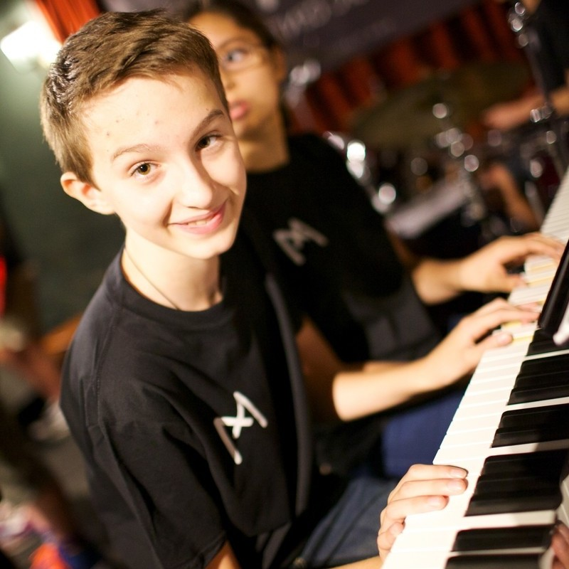 Music Camp Piano Player